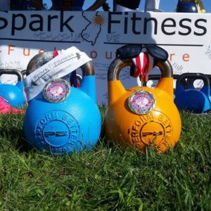 Spark fitness kettle bell training